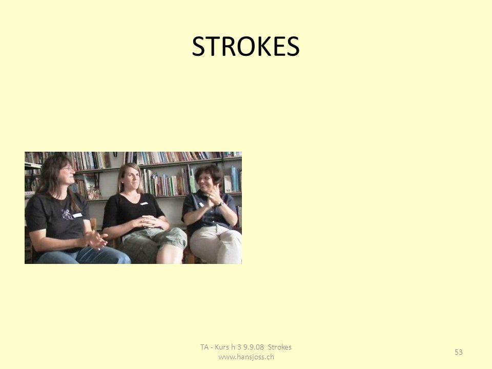 STROKES 53 TA - Kurs h 3 9.9.08 Strokes www.hansjoss.ch
