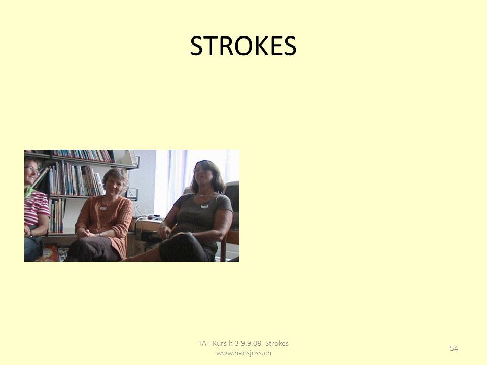 STROKES 54 TA - Kurs h 3 9.9.08 Strokes www.hansjoss.ch