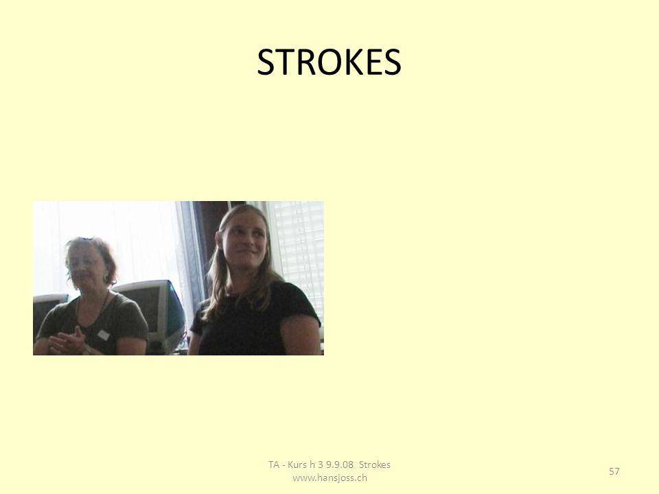 STROKES 57 TA - Kurs h 3 9.9.08 Strokes www.hansjoss.ch