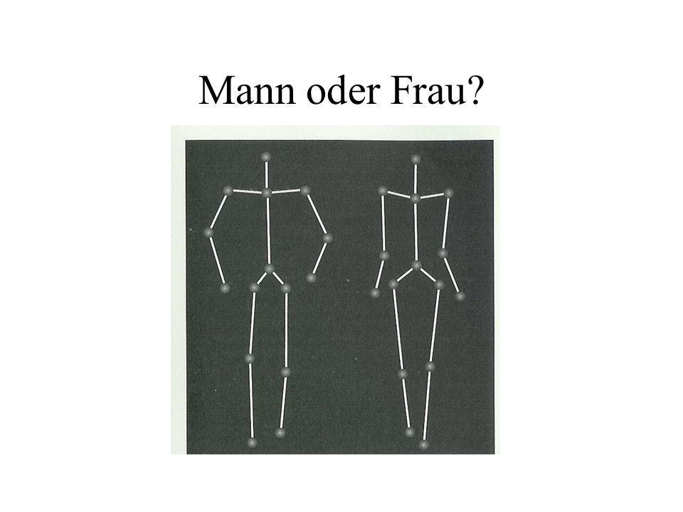 Mann oder Frau?