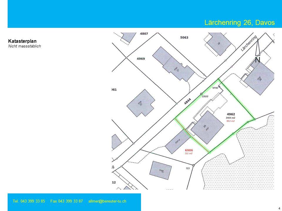 Lärchenring 26, Davos Tel.043 399 33 85 Fax 043 399 33 87 allmer@bereuter-tu.ch 5 2.