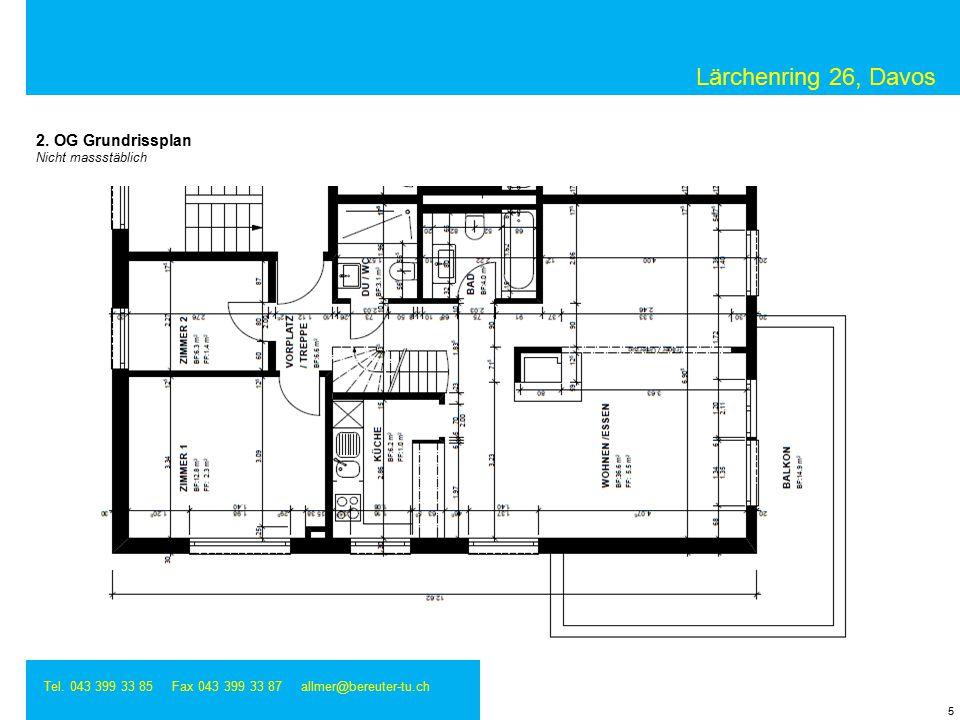 Lärchenring 26, Davos Tel. 043 399 33 85 Fax 043 399 33 87 allmer@bereuter-tu.ch 5 2.