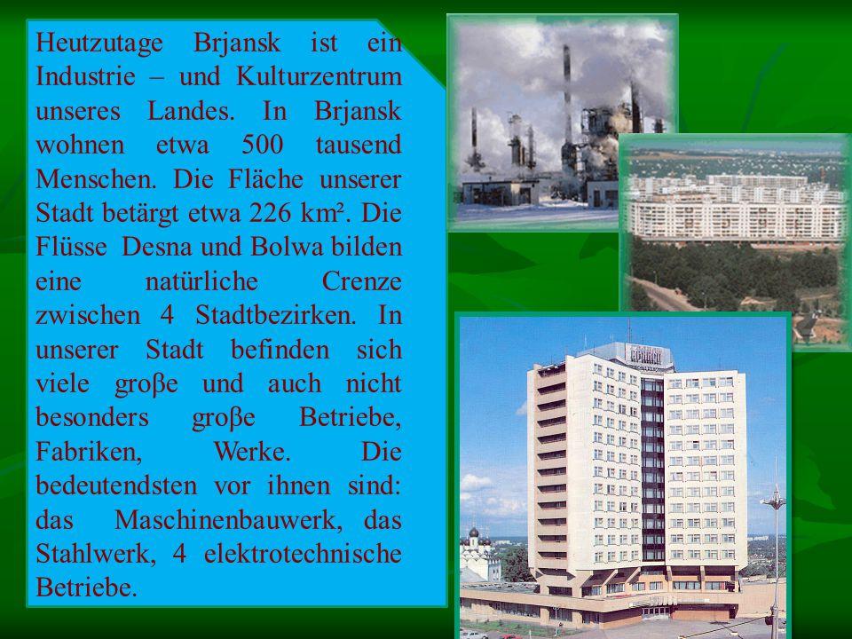 Brjansk ist auch eine Studentenstadt.