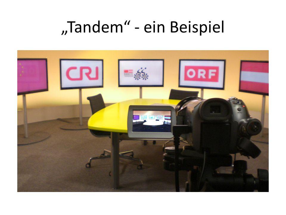 """""""Tandem - ein Beispiel"""