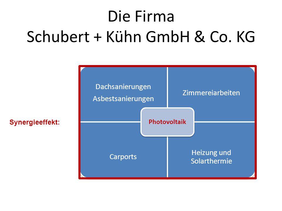 Die Firma Schubert + Kühn GmbH & Co.