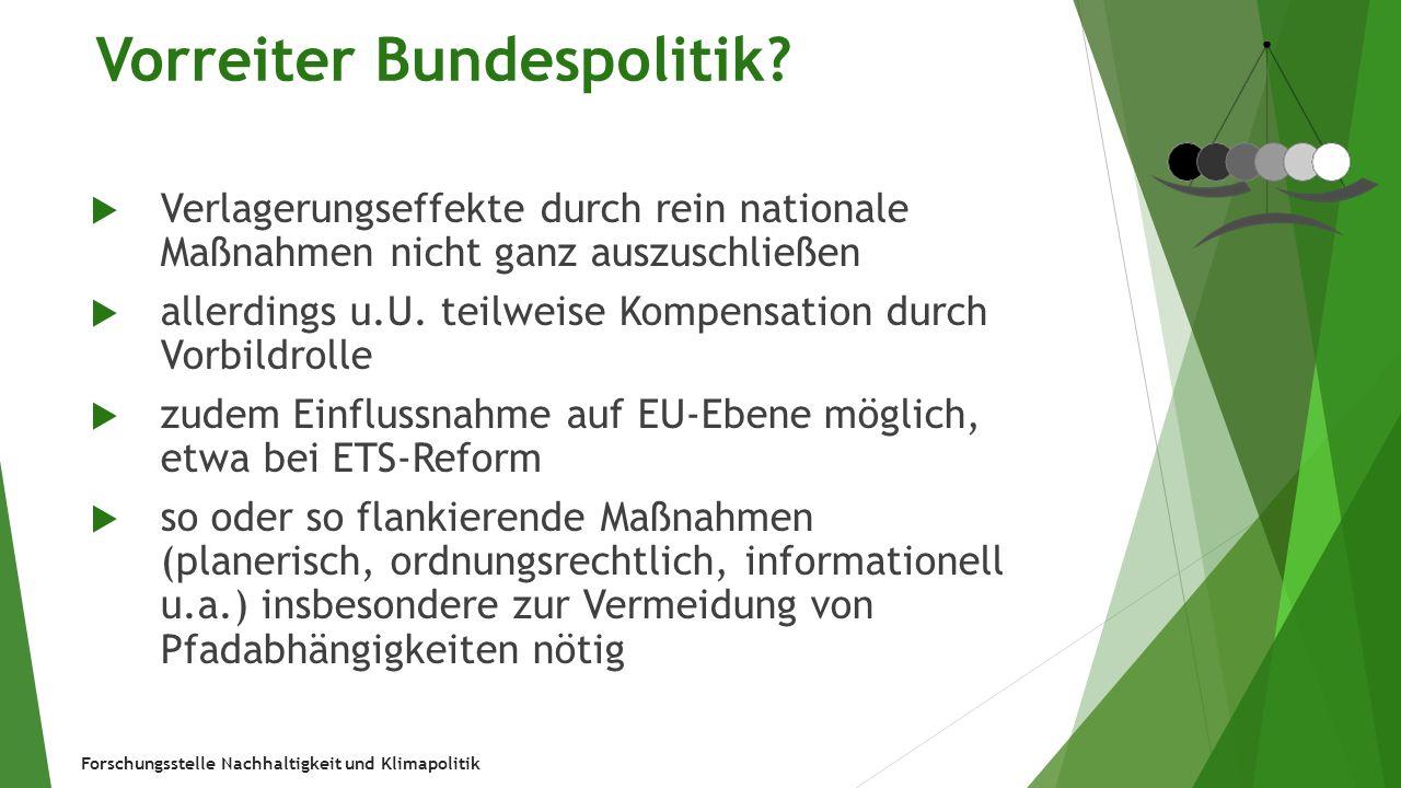 Forschungsstelle Nachhaltigkeit und Klimapolitik Beispiel EEG: Erfolgsgeschichte.
