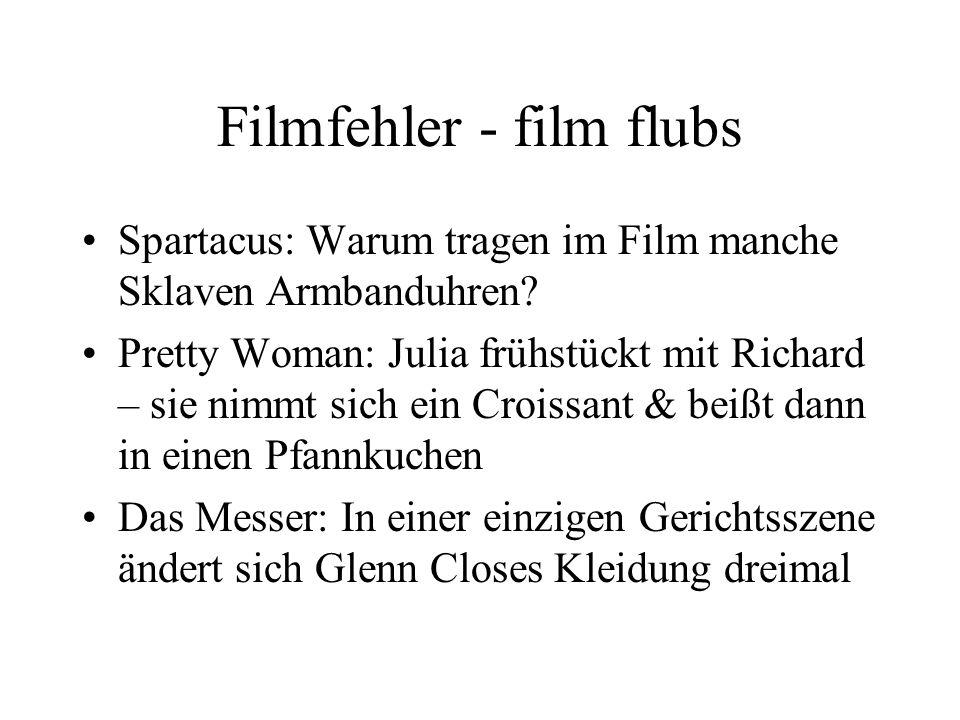 Filmfehler - film flubs Spartacus: Warum tragen im Film manche Sklaven Armbanduhren.