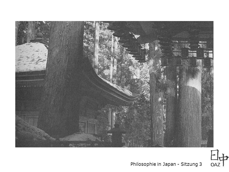 Philosophie in Japan - Sitzung 3 Ausblick: Essay freie Themenwahl !.