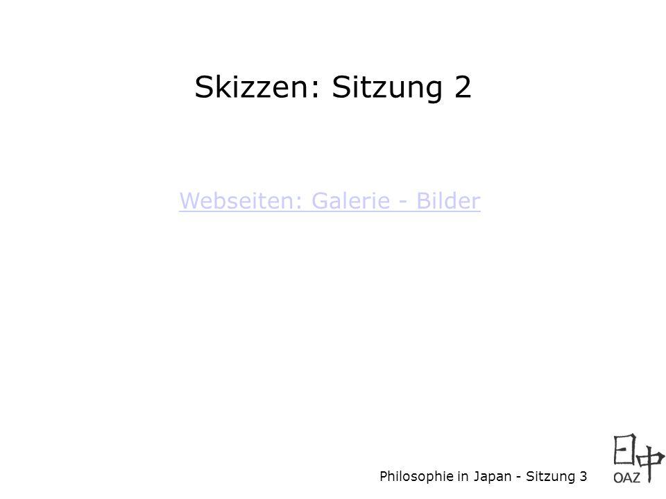 Skizzen: Sitzung 2 Webseiten: Galerie - Bilder