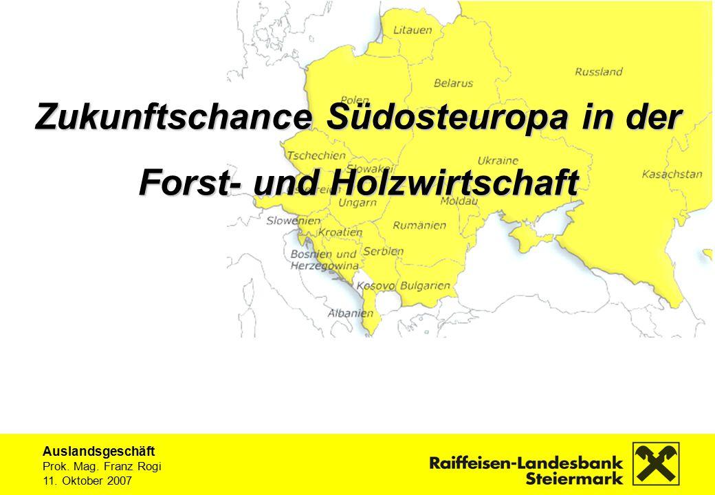 Auslandsgeschäft Prok.Mag. Franz Rogi 11. Oktober 2007 Ungarn200520062007P Nominelles BIP (Mrd.