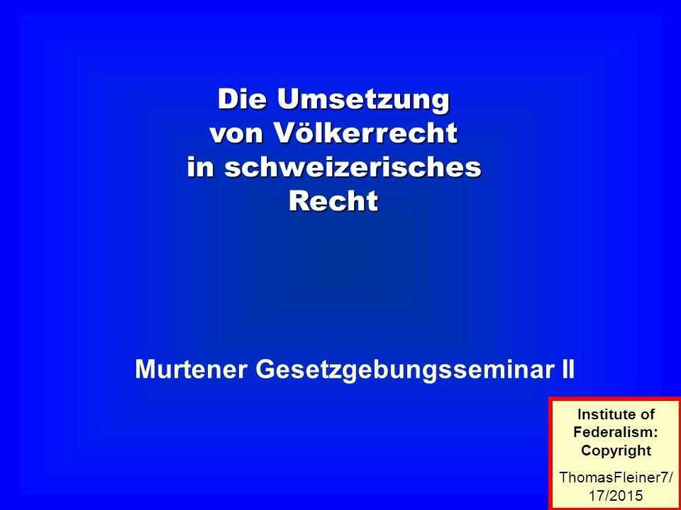 Europarecht Verfassung Gesetz Verordnung Bundesrecht Landesrecht Kt.