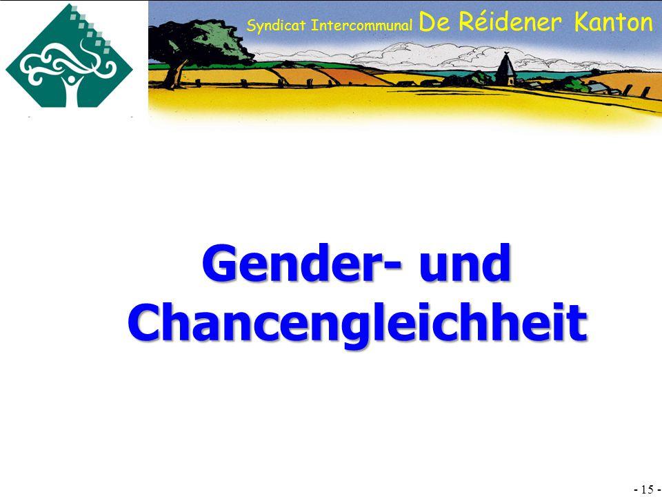 SI DRK - 15 - Syndicat Intercommunal De Réidener Kanton Gender- und Chancengleichheit