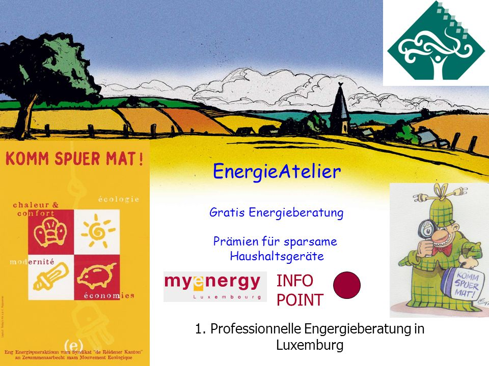 SI DRK EnergieAtelier Gratis Energieberatung Prämien für sparsame Haushaltsgeräte INFO POINT 1.