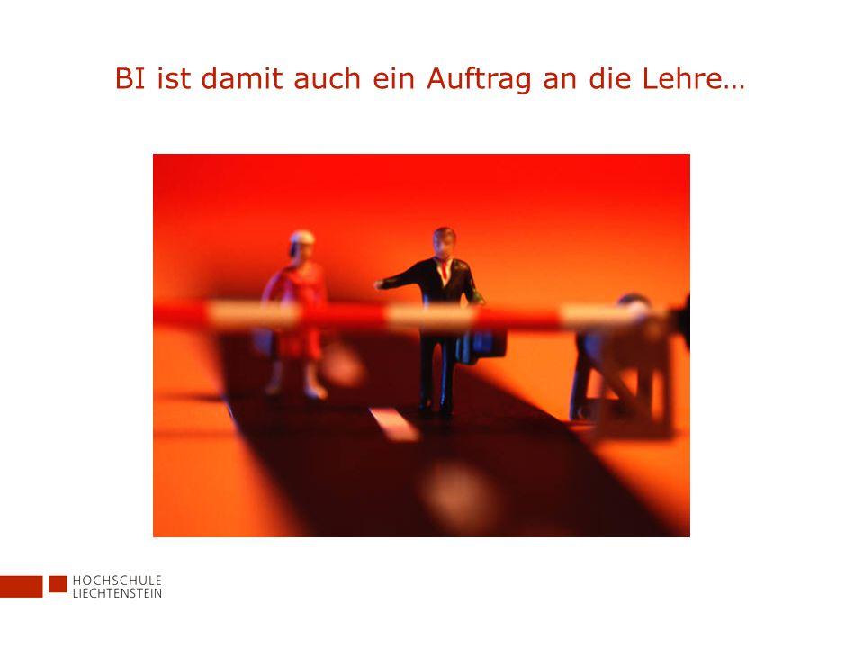 Die Antwort auf die Fragen von heute und morgen – das neue Executive MBA Programm in Business Process Integration der Hochschule Liechtenstein in Zusammenarbeit mit SAP (Schweiz)