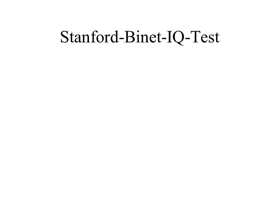 Stanford-Binet-IQ-Test