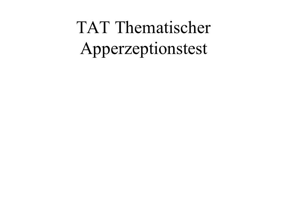 TAT Thematischer Apperzeptionstest