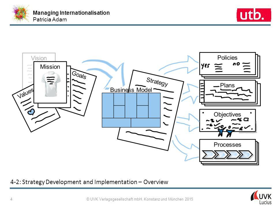 Managing Internationalisation Patricia Adam © UVK Verlagsgesellschaft mbH, Konstanz und München 2015 5 4 ‑ 3: EFQM Criterion 2 and Its Criterion Parts