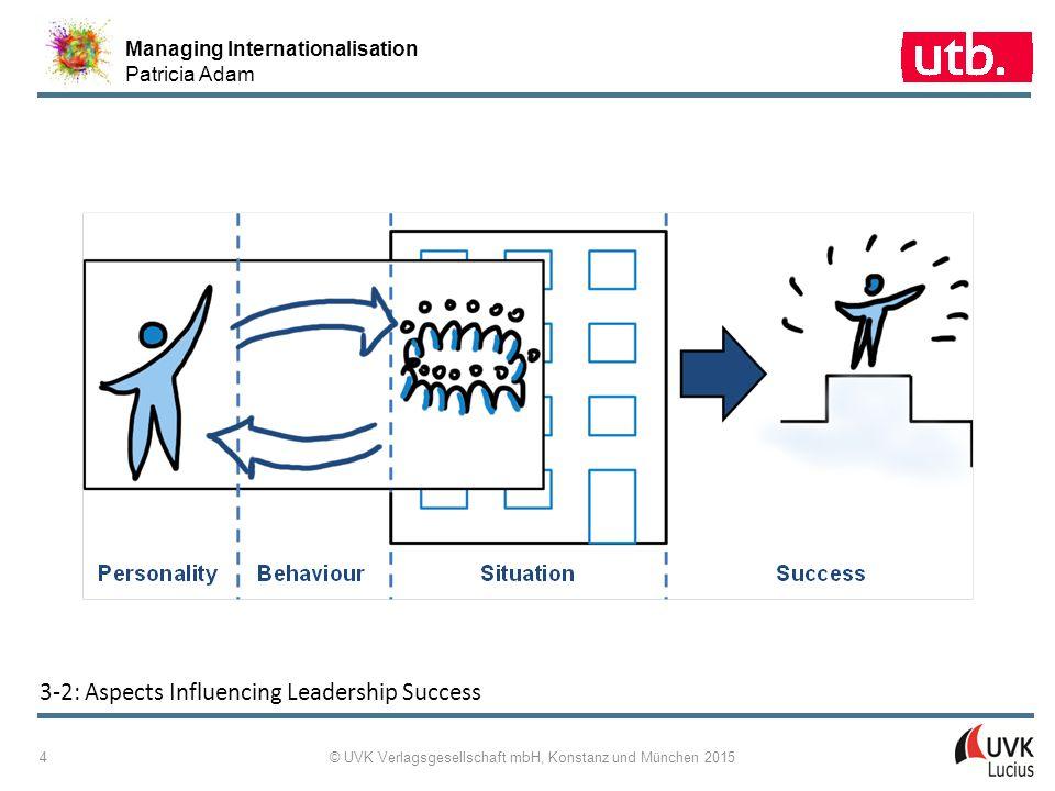 Managing Internationalisation Patricia Adam © UVK Verlagsgesellschaft mbH, Konstanz und München 2015 5 3 ‑ 3: One-Dimensional Behavioural Leadership Theories Based on Participation