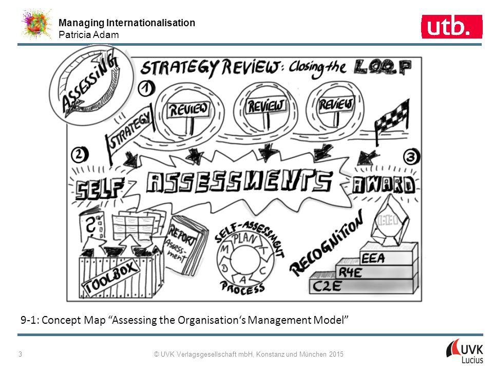 Managing Internationalisation Patricia Adam © UVK Verlagsgesellschaft mbH, Konstanz und München 2015 4 9-2: Drucker's Five Most Important Questions Asked about an Organisation