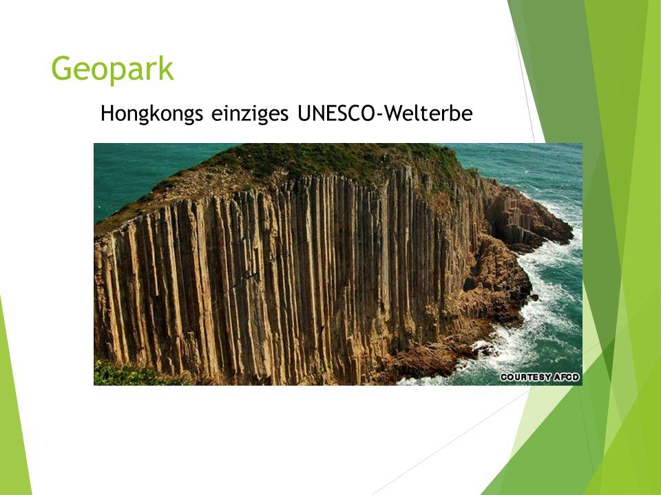 Geopark Hongkongs einziges UNESCO-Welterbe