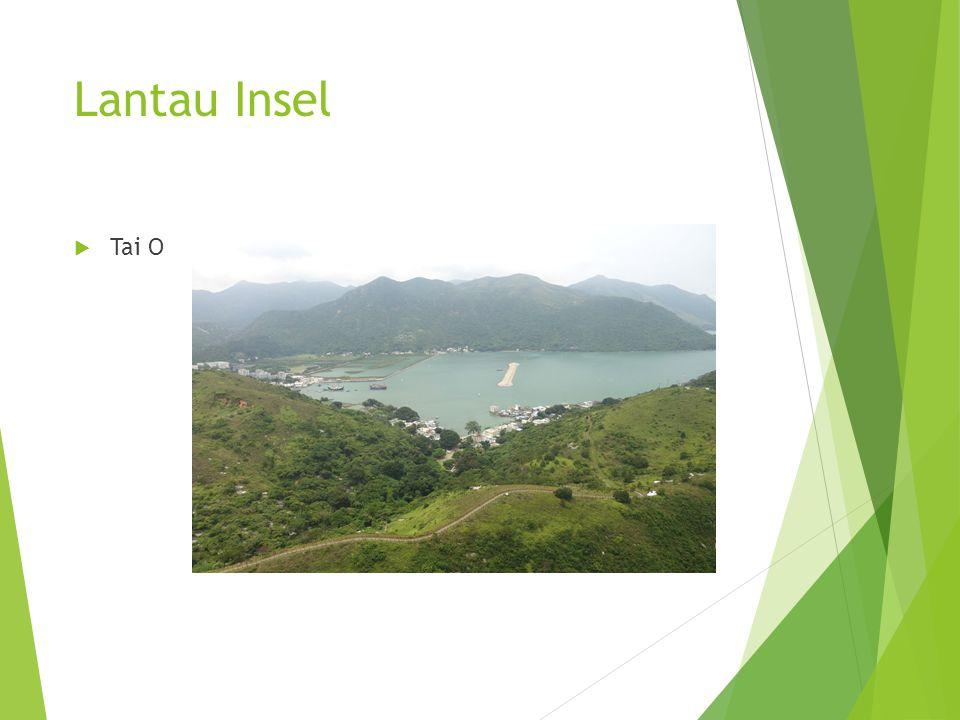 Lantau Insel  Tai O