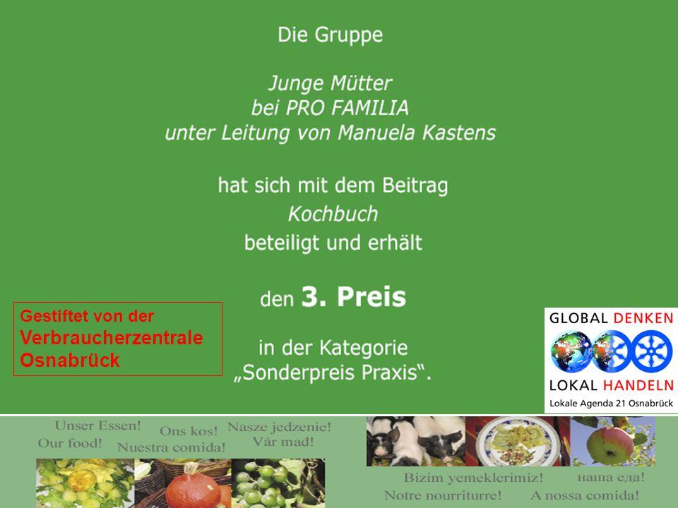 Gestiftet von der Verbraucherzentrale Osnabrück
