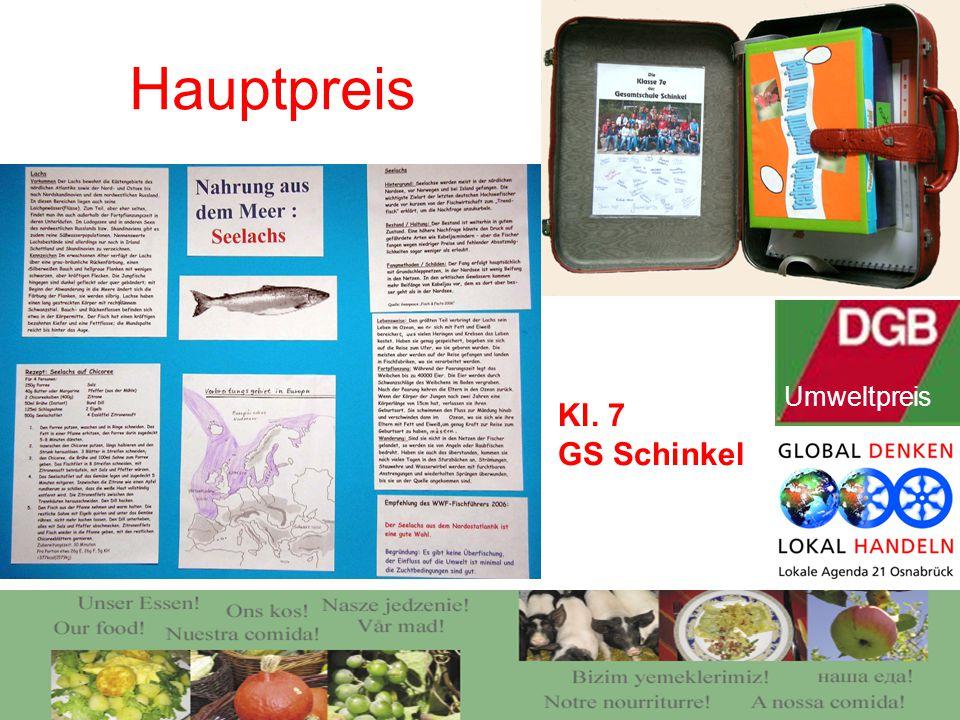 Hauptpreis Kl. 7 GS Schinkel Umweltpreis