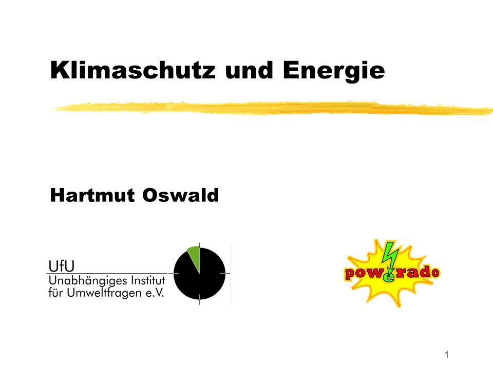 1 Hartmut Oswald Klimaschutz und Energie