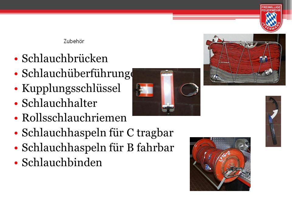 Zubehör Schlauchbrücken Schlauchüberführungen Kupplungsschlüssel Schlauchhalter Rollsschlauchriemen Schlauchhaspeln für C tragbar Schlauchhaspeln für