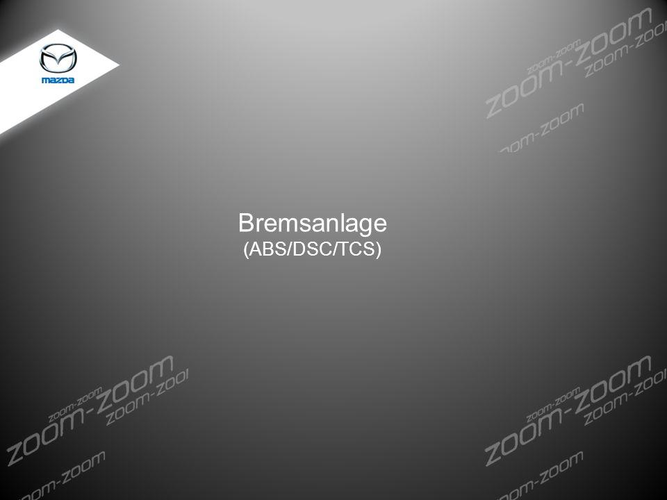 Bremsanlage (ABS/DSC/TCS)