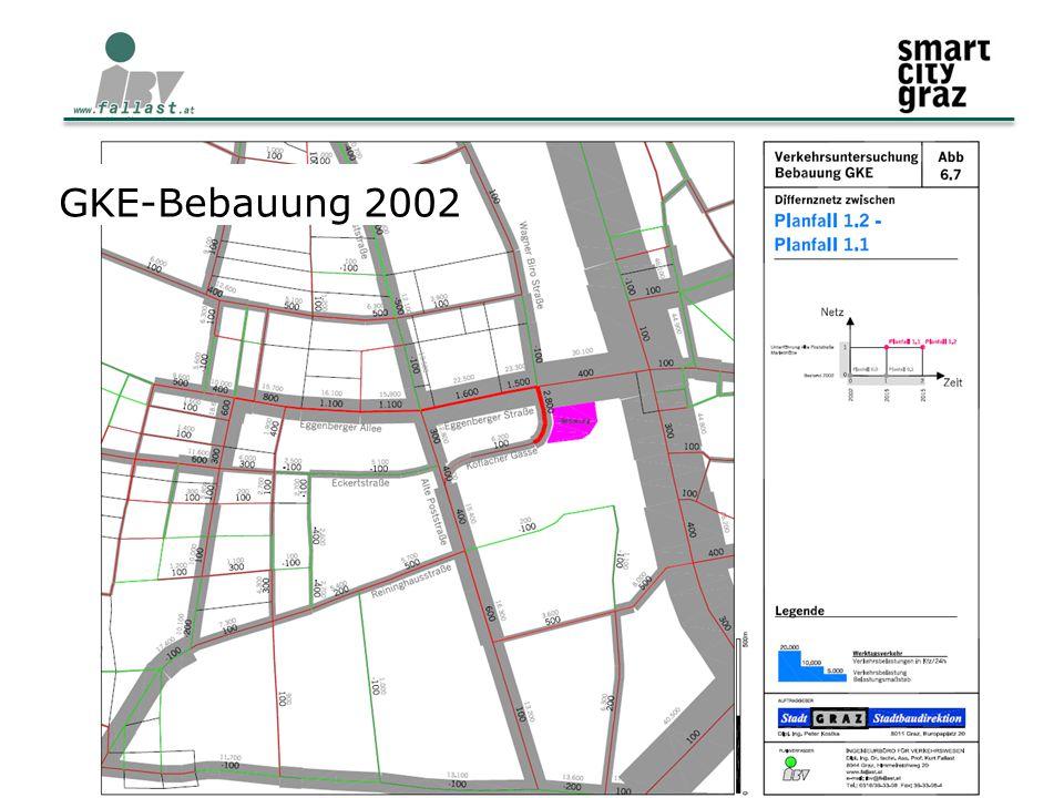 11.02.2015 Verkehr und Mobilität im Stadtteil 6 GKE-Bebauung 2002