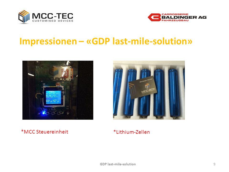 GDP last-mile-solution10 Kontakt – «GDP last-mile-solution» Gerne vereinbaren wir einen persönlichen und unverbindlichen Termin.