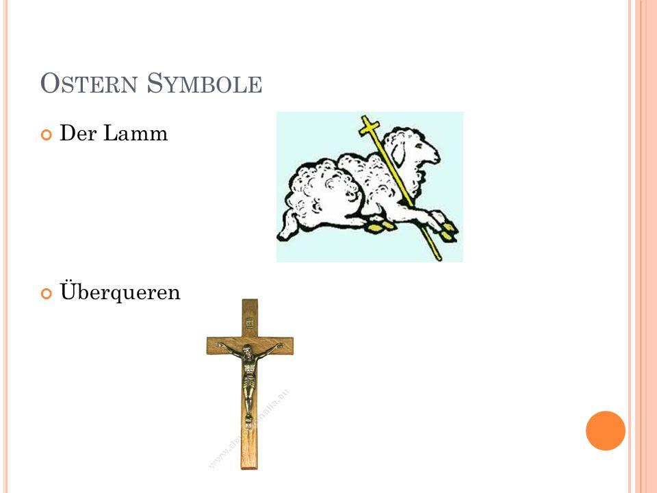 O STERN S YMBOLE Der Lamm Überqueren