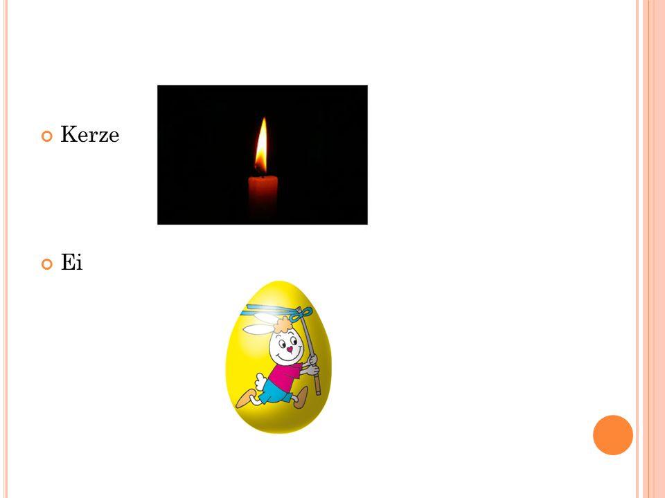 Kerze Ei