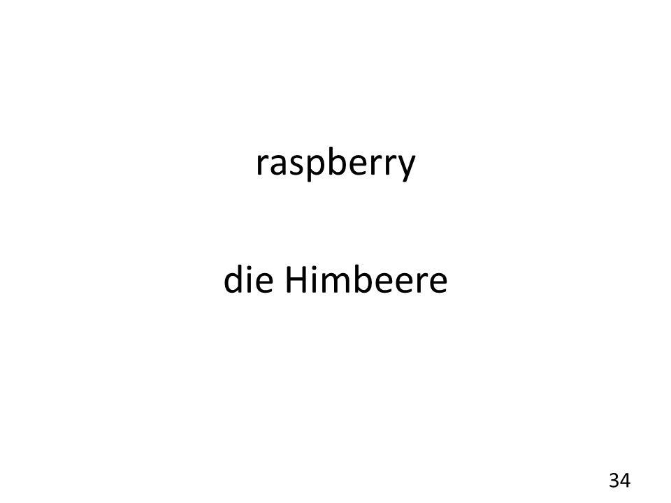 raspberry die Himbeere 34