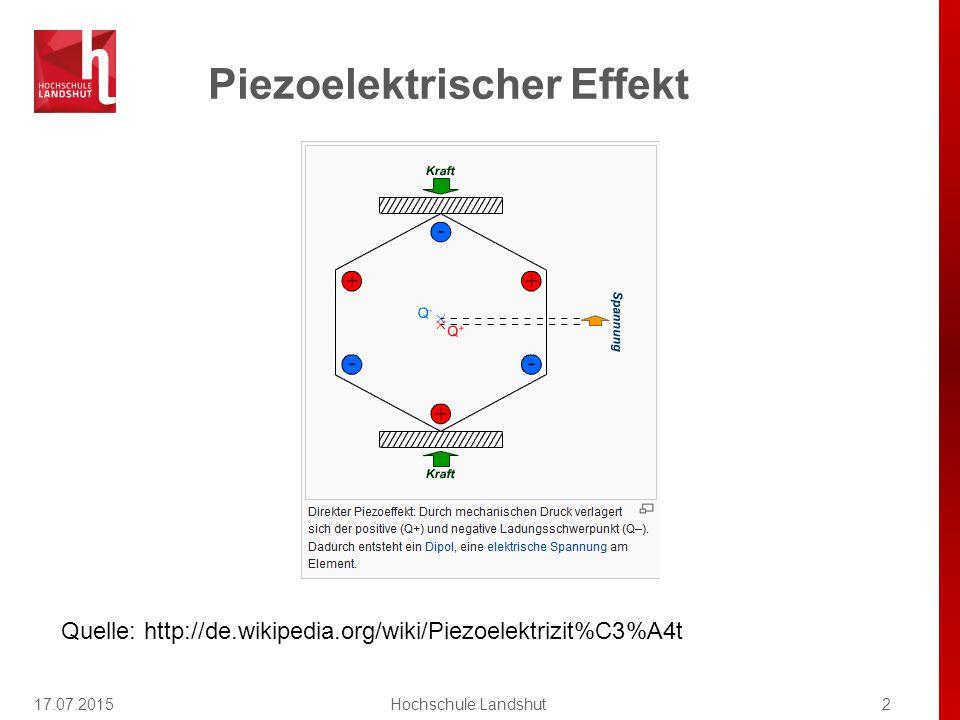Schwingquarz (1) 17.07.20153Hochschule Landshut Quelle: http://de.wikipedia.org/wiki/Schwingquarz