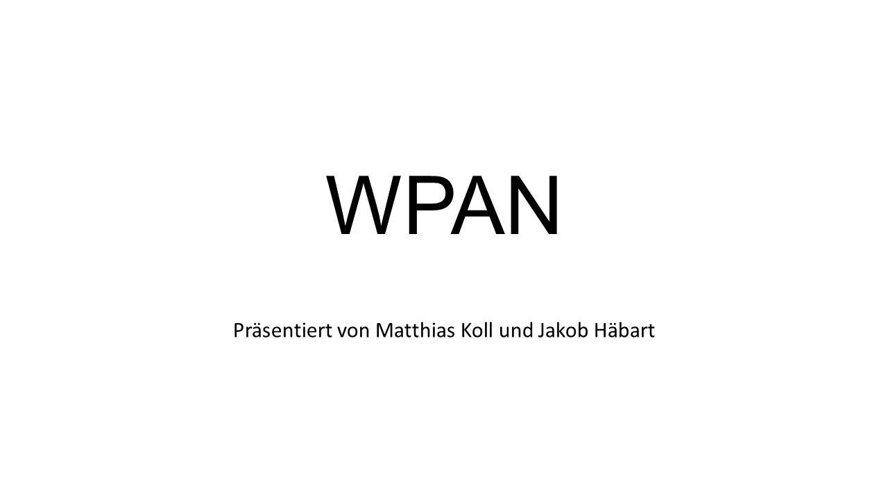 WPAN Präsentiert von Matthias Koll und Jakob Häbart