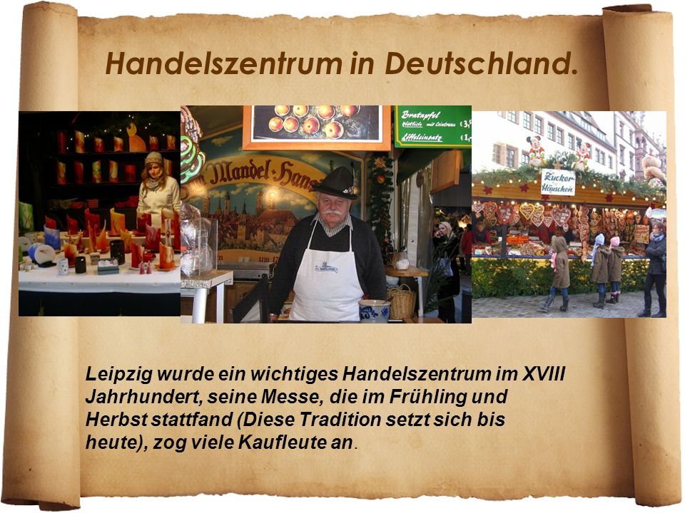 Handelszentrum in Deutschland.