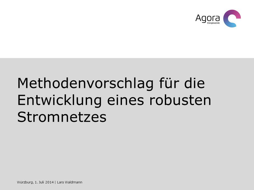 Methodenvorschlag für die Entwicklung eines robusten Stromnetzes Würzburg, 1.