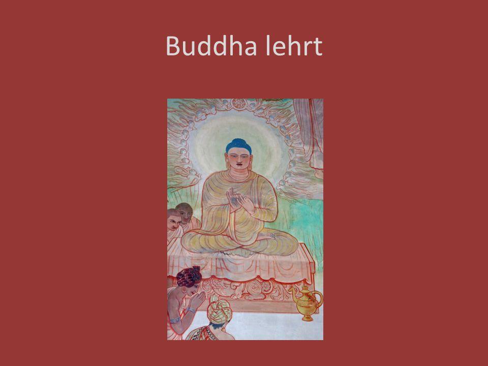 Buddha lehrt