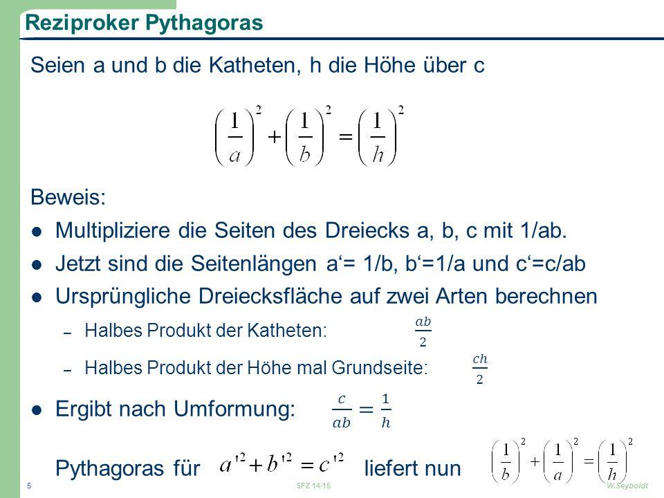 Reziproker Pythagoras SFZ 14/15W.Seyboldt 5