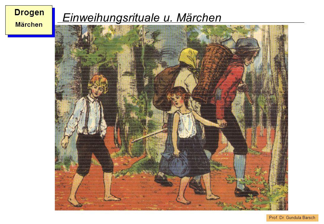 Prof. Dr. Gundula Barsch Drogen Märchen Einweihungsrituale u. Märchen
