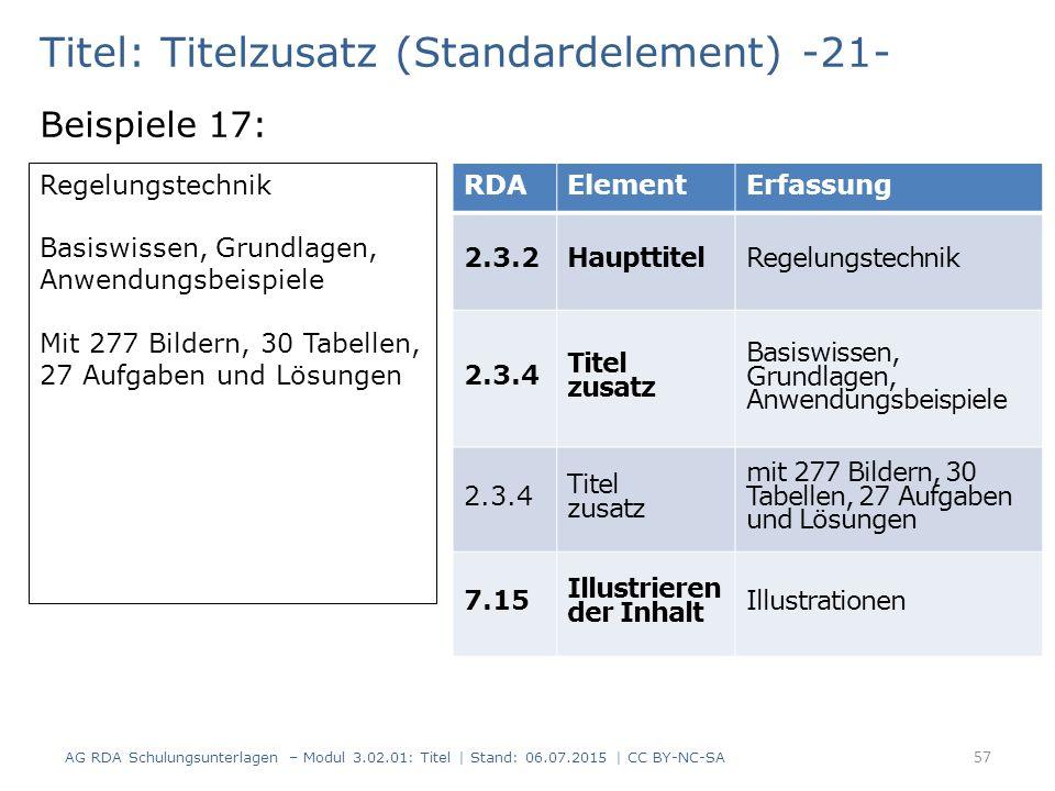 Titel: Titelzusatz (Standardelement) -21- Beispiele 17: Regelungstechnik Basiswissen, Grundlagen, Anwendungsbeispiele Mit 277 Bildern, 30 Tabellen, 27