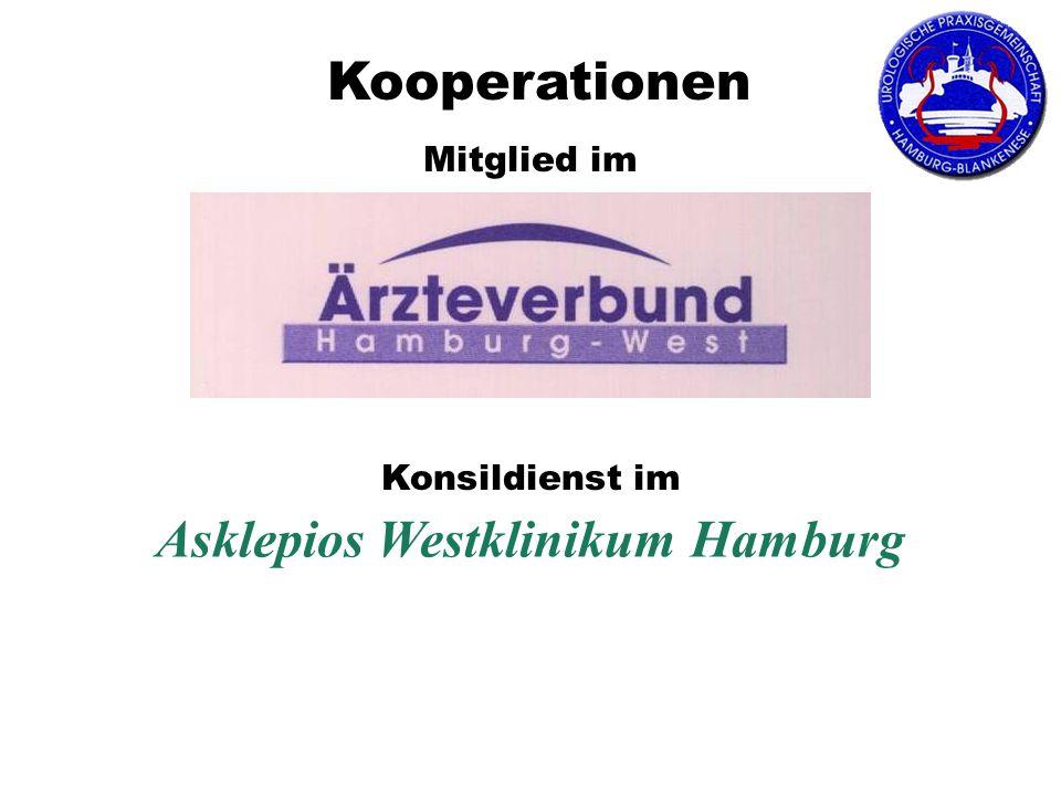 Asklepios Westklinikum Hamburg Mitglied im Konsildienst im Kooperationen