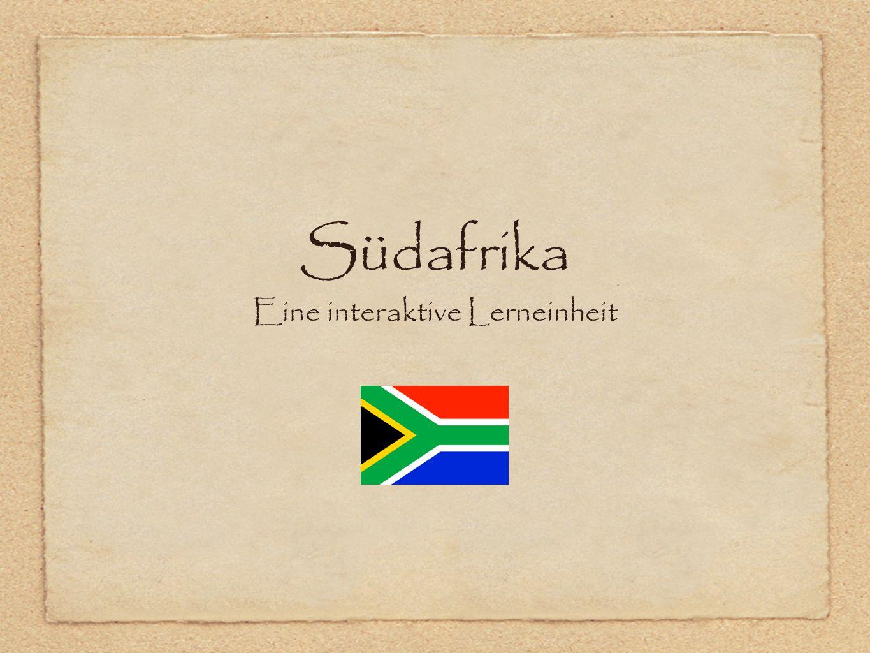 Südafrika Eine interaktive Lerneinheit