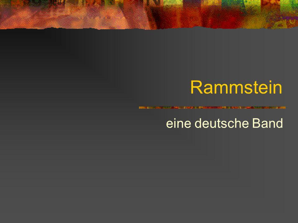 Rammstein eine deutsche Band