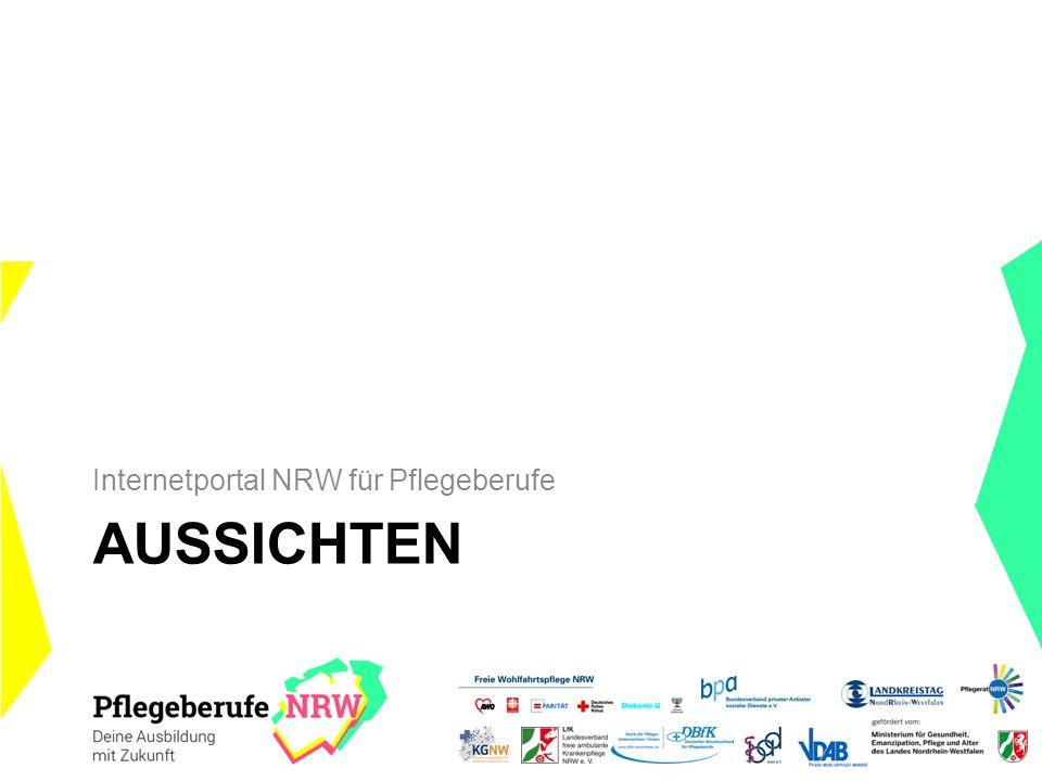 AUSSICHTEN Internetportal NRW für Pflegeberufe
