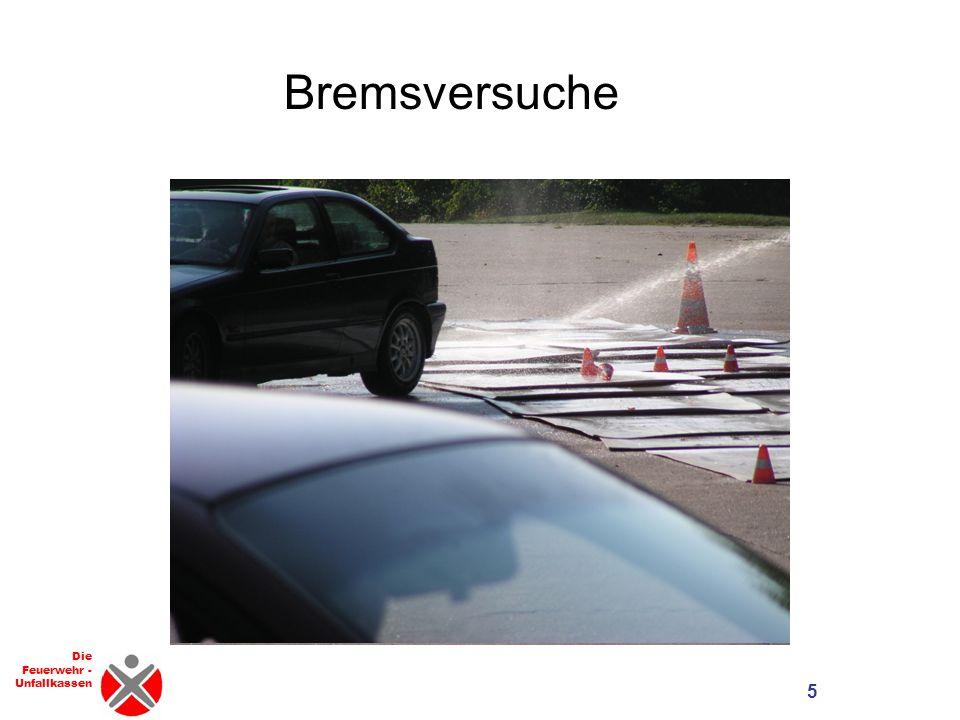 Die Feuerwehr - Unfallkassen Bremsversuche 5