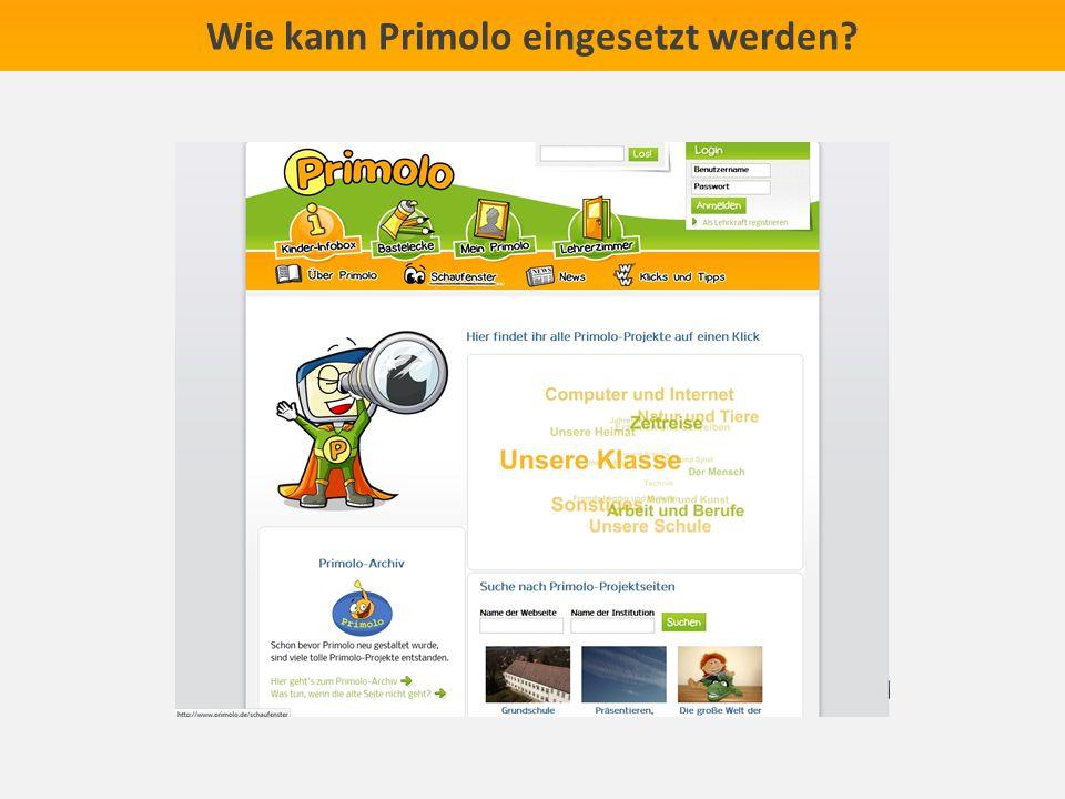 Wie kann Primolo eingesetzt werden?