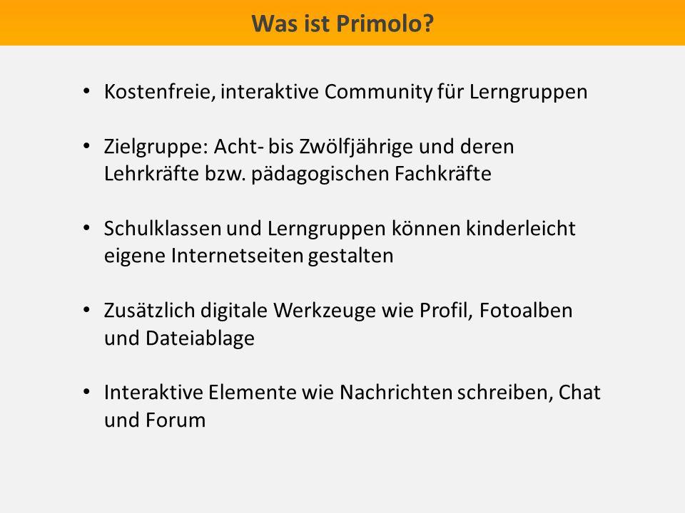 Kostenfreie, interaktive Community für Lerngruppen Zielgruppe: Acht- bis Zwölfjährige und deren Lehrkräfte bzw.